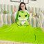 หมอนผ้าห่มกบ Tabikaeru Travel frog thumbnail 5
