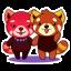 Nong Red Pandas - Fun Set - Thai thumbnail 1