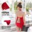 ชุดว่ายน้ำสีแดง ทูพีช รอบอก 30-34 สะโพก 30-36 สวยมากๆค่ะ สีสวย ผ้าดี เซ็กซี่มาก thumbnail 4