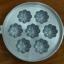 พิมพ์ขนมไข่อะลูมิเนียม เล็ก ขนาด 7 นิ้ว แบบที่ 2 016-KK-AL27 Khanom Khai mold aluminum 7 inch Ma yom.016-KK-AL27 อุปกรณ์ทำขนม thumbnail 1