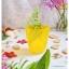 Yellow Short Glass Cup แก้วน้ำสีเหลือง ลายเกลียว นูน thumbnail 4