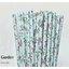 Floral Pattern Paper Straws หลอดกระดาษ ใช้สำหรับดื่มน้ำ thumbnail 10