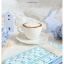 Ceramic Coffee Cup Set ชุดแก้วกาแฟ สีขาว ลายนูน thumbnail 15