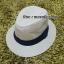 หมวกปานามาปีกกว้าง หมวกสาน หมวกปานามาสีน้ำตาลอ่อนคาดดำ พร้อมส่งค่ะ **รูปถ่ายจากสินค้าจริงที่ขายค่ะ** thumbnail 1