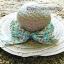 หมวกปีกกว้าง หมวกเที่ยวทะเล หมวกสานโทนน้ำตาล แต่งโบว์วินเทจรอบเก๋ ๆ thumbnail 2