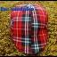 หมวกติงลี่ ลายสก็อตขาวแดงดำ ** รูปถ่่ายจากสินค้าจริงที่ขายค่ะ** thumbnail 2