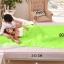 ถุงนอนผ้า cotton (เบา-เล็กพิเศษ) สีเขียว thumbnail 3