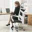 เก้าอี้สำนักงานนวดไฟฟ้าระบบสั่นสะเทือน thumbnail 2
