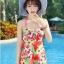 ชุดว่ายน้ำ ไซส์ xxl ลายดอกไม้ สีแดง ใส่ได้ตั้งแต่รอบอก 36-40เอว 28-34สะโพก36-40 นิ้วค่ะ ไม่แยกชิ้นเสื้อกันกางเกงนะคะ thumbnail 1