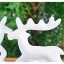 White Reindeer Candle Holders เชิงเทียนกวางสีขาว thumbnail 5