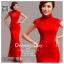 รหัส ชุดกี่เพ้า : AN723 ชุดกี่เพ้าประยุกต์ยาวราคาถูก ผ้าสวยๆ ใส่งานแต่งงาน สีแดง สีสันสดใสสวยและน่ารักมากๆ thumbnail 1