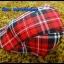 หมวกติงลี่ ลายสก็อตขาวแดงดำ ** รูปถ่่ายจากสินค้าจริงที่ขายค่ะ** thumbnail 1