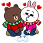 Brown & Cony's Snug Winter Date thumbnail 1