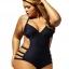 ชุดว่ายน้ำคนอ้วน สีดำ2xl รอบอก 36-42 รอบเอว 30-34 สะโพก 40-44 นิ้วค่ะ ผ้าดี งานสวย แซบมากกก thumbnail 2