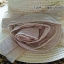 หมวกปีกกว้าง หมวกไปทะเล หมวกสาน สีนำ้ตาล thumbnail 2