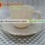 ถ้วยกาแฟเนื้อมุกพร้อมจานรอง 025-LD60-CL สีกาแฟลาเต้ latte thumbnail 1