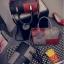 กระเป๋าถือขนาดกลาง กระเป๋าสะพายไหล่ สะพายข้าง Hand Bag Red Black สีแดงดำ thumbnail 14