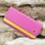 กระเป๋าสตางค์ผู้หญิงทรงยาว รุ่น W Long Crown Pink Yallow thumbnail 3