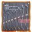 META ประแจแหวน2ข้าง 8ตัวชุด (6-22มม.) ISO 9001:2008