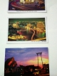 โปสการ์ดท่องเที่ยวไทย ชุด 3 ใบ 3 แบบ รูปกรุงเทพฯ ยามค่ำ