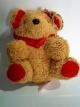 ตุ๊กตาพวงกุญแจหมีสีน้ำตาล ความสูง 11 ซม.