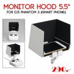 "Monitor Hood 5.5"" for DJI Phantom 3 (Smart Phone)"