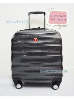 กระเป๋าเดินทางแบรนด์ Saint 2009 สีดำ ขนาด 16 นิ้ว ใส่โน๊ตบุ๊คได้