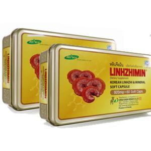 หลินจือมิน LINHZHIMIN 2กล่อง แถม สบู่โสม1ก้อน