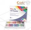 สีชอล์คน้ำมันPentel 36สี (1กล่อง มี 12ชุด)