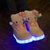 รองเท้าคิตตี้ led
