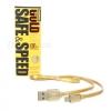 สายชาร์จ Remax Gold Safe&Speed สายชาร์จเกรดพรีเมียม หรูหราด้วยสีทอง ความยาว 1เมตร