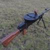 ปืนกลมือทอมสัน Thompson submachinegun ยิงลูกกระสุนน้ำ