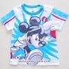 Disney เสื้อยืดMickey สีฟ้า ไซด์ 2,6 ปี