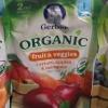 Gerber Organic fruit&veggies แครอท แอปเปิ้ลและมะม่วง ขนาด 99 กรัม