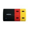 ัUSB HUB , ปลั๊กพ่วง USB Remax Charger 4port 5V 6A ของแท้ 100%