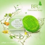BFC Greentea Soap สบู่ชาเขียว จบทุกปัญหาสิวด้วย สบู่หน้าใส ลดสิว บีเอฟซี