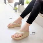 รองเท้าแตะ เพื่อสุขภาพ สไตล์ฟิทฟลอป เก็บทรงสวย (สีทอง )