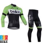 ชุดแขนยาว belkin 2014 สีเขียวดำ