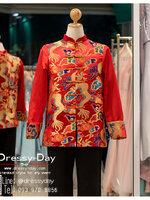 รหัส เสื้อจีนชาย : KPM003 เสื้อจีนชาย พร้อมส่ง ซื้อได้ที่ไหน -> แนะนำร้านเดรสซี่เดย์ www.dressy-dayนะคะ เสื้อจีนชาย คัตติ้งเนี๊ยบๆ พร้อมส่งเยอะสุดในไทย