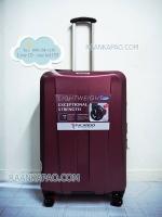 กระเป๋าเดินทาง Ricardo จากประเทศอเมริกา รับประกัน 10 ปี ไซส์ 26 นิ้ว สีแดง