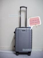 กระเป๋าเดินทาง fiber abs สีเทา ไซส์ 20 นิ้ว