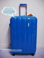 กระเป๋าเดินทางยี่ห้อไฮโปโล ของแท้ รับประกัน 3 ปี ขนาด 28 นิ้ว สีฟ้า
