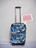 กระเป๋าเดินทางแบรนด์ Ricardo รุ่น Roxbury 2.0 สีฟ้าลายฟอสซิล ไซส์ 21 นิ้ว