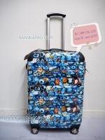 กระเป๋าเดินทางยี่ห้อ Ricardo รุ่น Roxbury 2.0 สีฟ้าลายฟอสซิล ไซส์ 25 นิ้ว