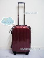 กระเป๋าเดินทางยี่ห้อไฮโปโล รุ่น Hipolo-1151 สีแดง ขนาด 20 นิ้ว