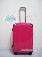 กระเป๋าเดินทางยี่ห้อไฮโปโล รุ่น Hipolo-1151 สีชมพู ขนาด 24 นิ้ว