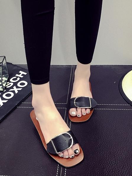รองเท้าแตะผู้หญิง รองเท้าแตะใส่สบาย รองเท้าแตะแฟชั่น