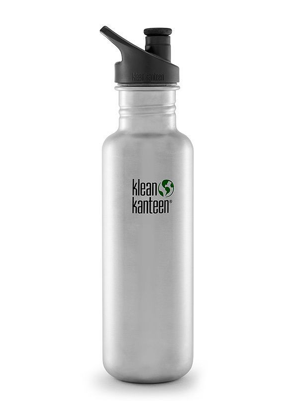 Single Wall Bottle with 3.0 Sport Cap Klean Kanteen Kid Classic 12 oz
