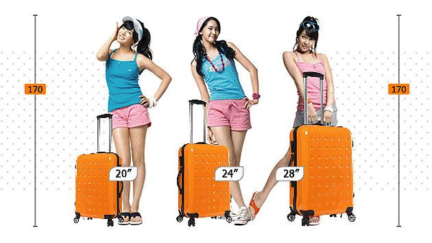 ขนาดกระเป๋าเดินทาง