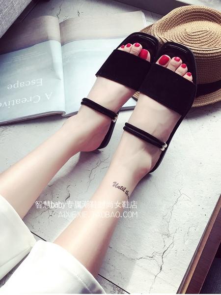 รองเท้าแตะผู้หญิง รองเท้าฟองน้ำ รองเท้าแตะมีส้น